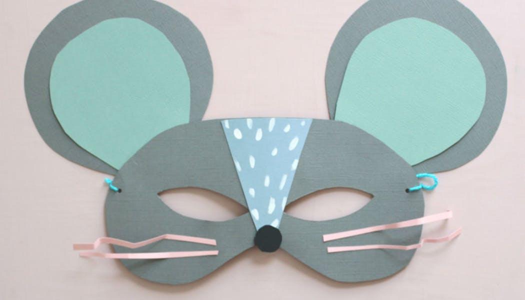 Un masque de souris