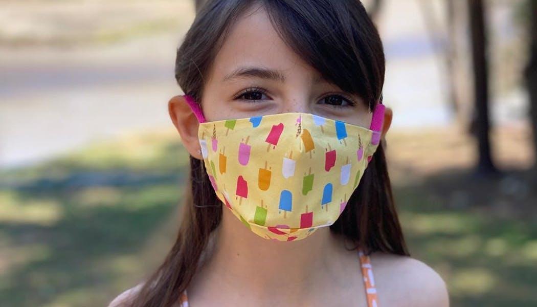 Un masque pour glace addict