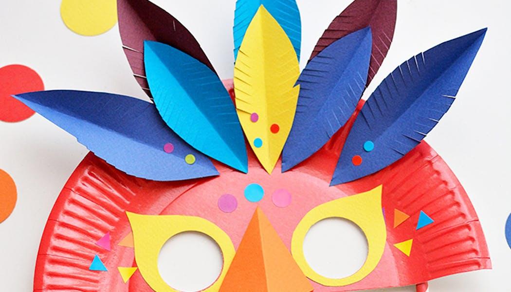Un masque pour le carnaval