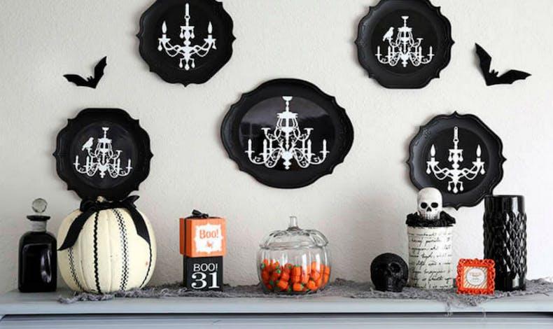 Un meuble aux couleurs d'Halloween
