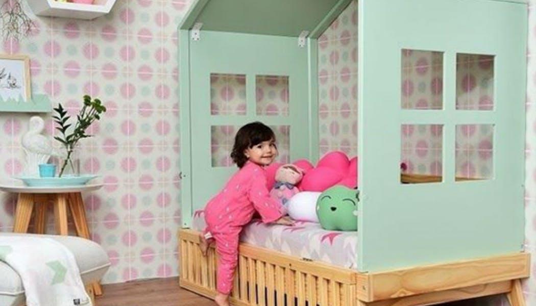 Un mini lit cabane