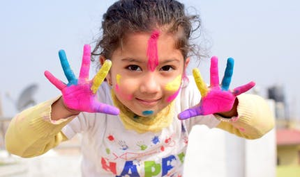 Un monde de toutes les couleurs, un poème de Joy