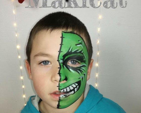 Un monstre vert