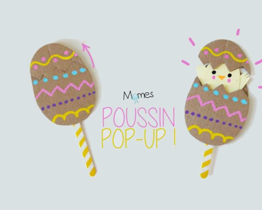 Un œuf de Pâques pop-up