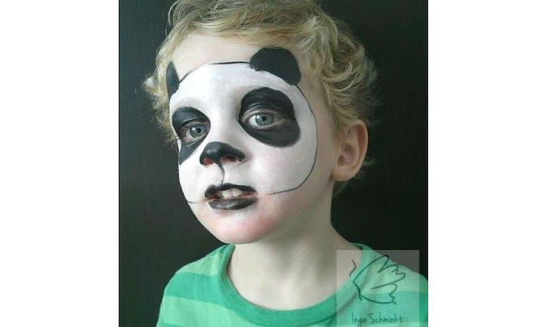Un panda qui fait peur