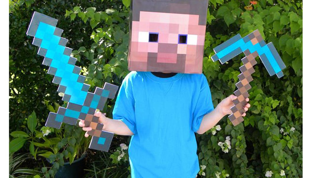 Minecraft déguisements costumes enfants         halloween