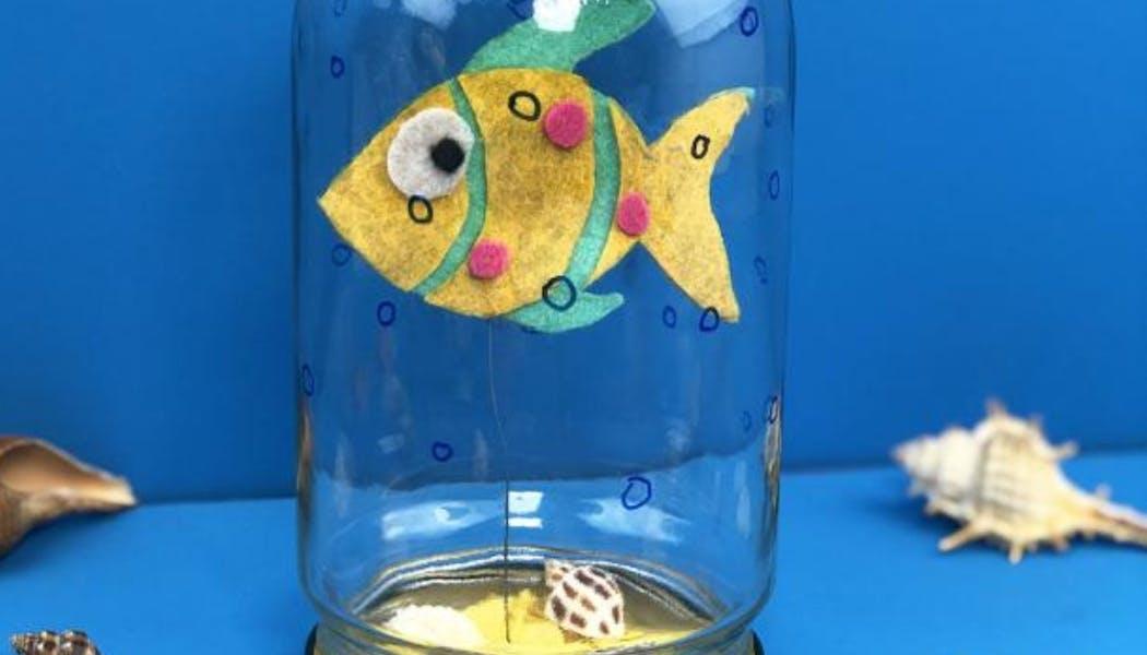 Un poisson dans son bocal