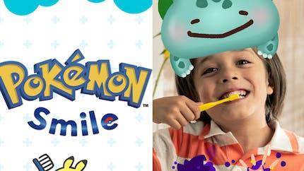 Un Pokémon virtuel pour encourager les enfants à bien se brosser les dents
