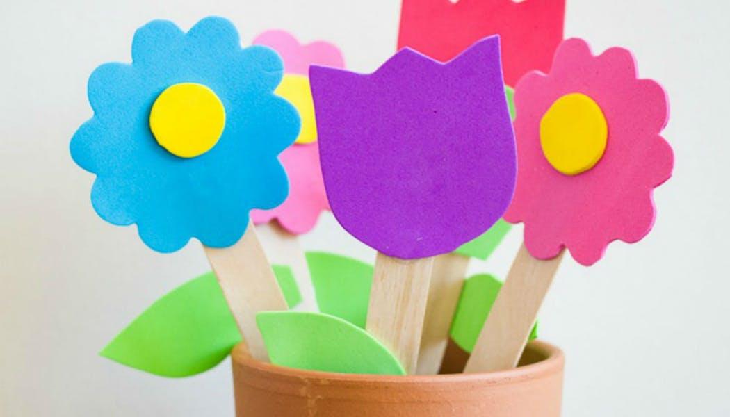 Un pot de fleurs impérissables