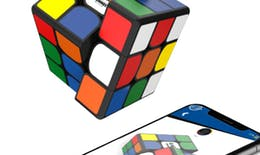 Un Rubik's Cube connecté pour les 40 ans du jeu !