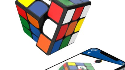 Rubik's cube connected 40 ans casse-tête application       mobile
