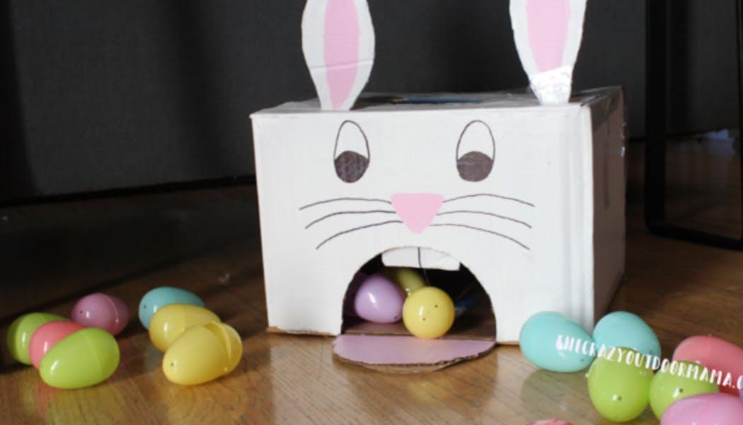 Un super jouet en carton pour Pâques