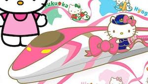 Un train totalement Hello Kitty bientôt au Japon !
