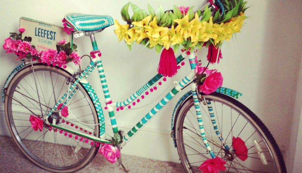 Un vélo à l'esprit végétal