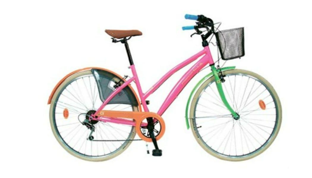 Un vélo, cinq couleurs