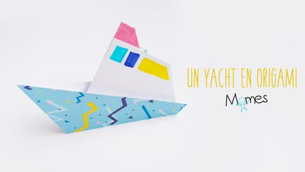 Un yacht en papier
