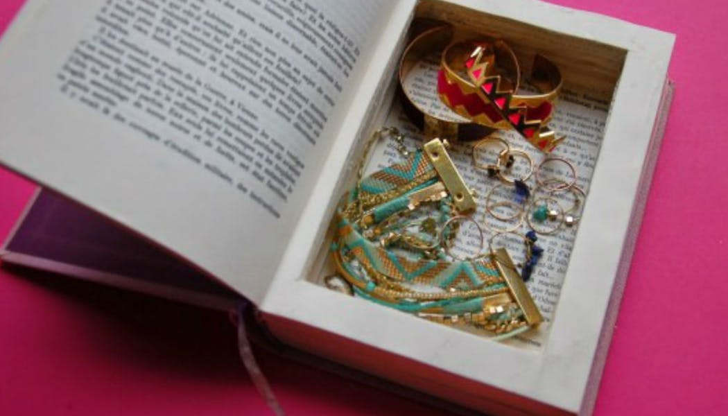 Une boîte à bijoux en trompe l'œil