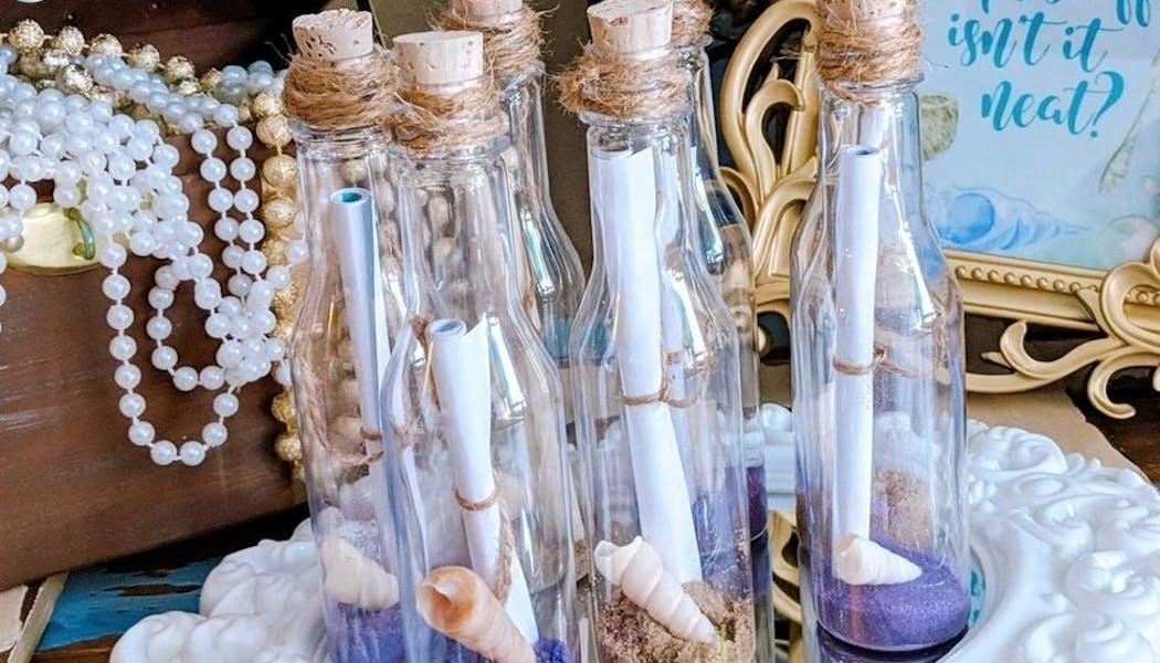 Une bouteille à la mer comme invitation