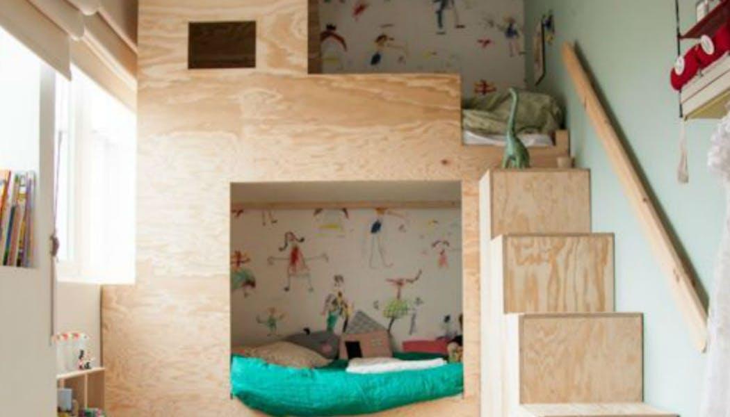 Une cabane avec deux lits
