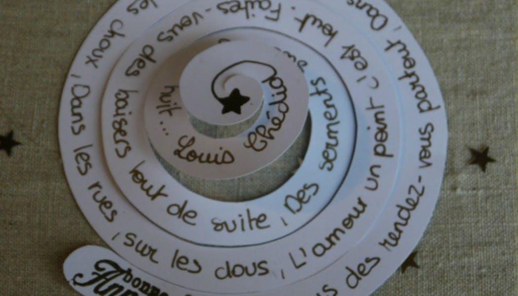 Une carte en spirale