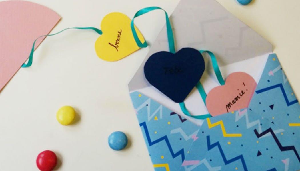 Une carte pour une dame de cœur