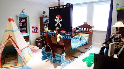 Décoration de chambre pirate