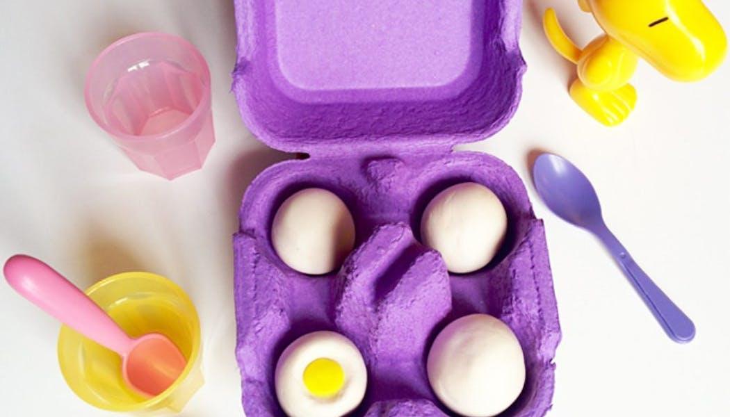 Une dînette spéciale œuf à la coque