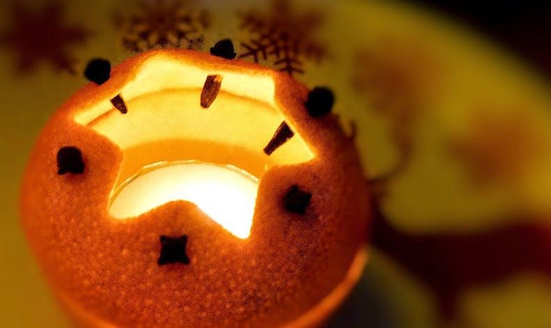 Une drôle d'orange de Noël