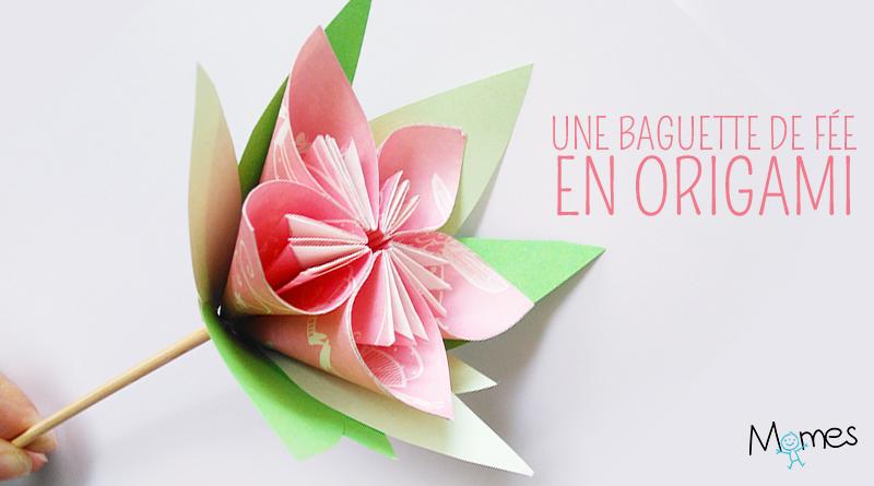 Une Fleur En Origami Momes Net
