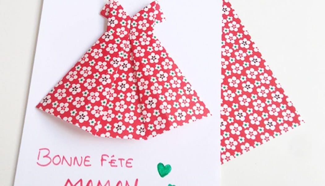 Une jolie robe pour maman