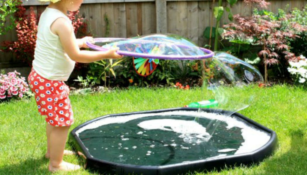 Une machine à bulles