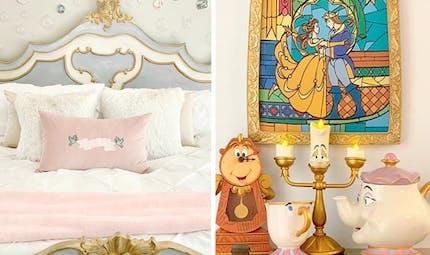 Une maman décore toutes les pièces de sa maison sur le thème de Disney