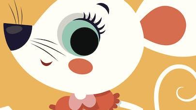 comptine Une petite souris
