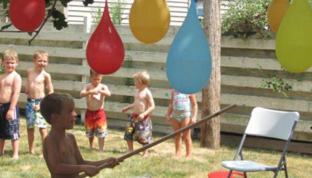 Une piñata d'eau