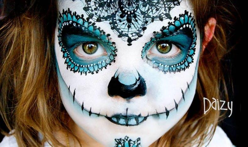 Une princesse version Halloween