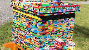 Une ruche entièrement en Lego