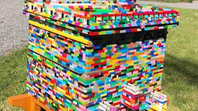 ruche Lego abeilles
