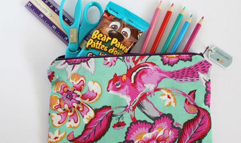 Une trousse girly