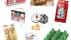 Les ustensiles de cuisine pour un Noël créatif