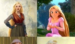 Voilà à quoi ressemblaient les premiers dessins originaux des personnages Disney