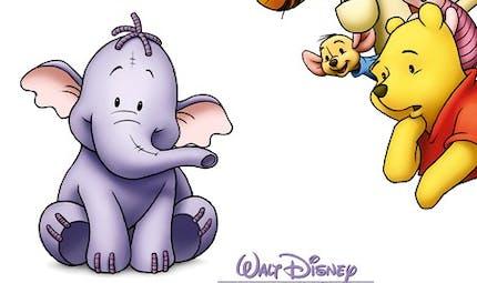 Winnie et l'éfélant