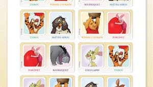 Winnie l'ourson : jeu de dominos