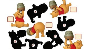 Winnie l'ourson : jeu des ombres