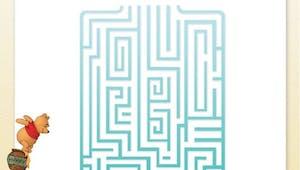 Winnie l'ourson : labyrinthe