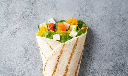 Wrap vegetarien
