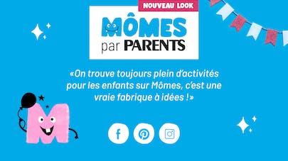 descriptif du nouveau site mômes par Parents