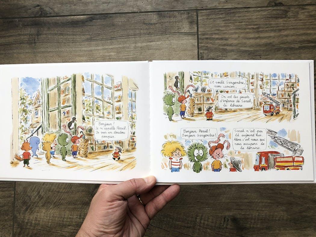 Ana ana et les doudous libraires extrait 2