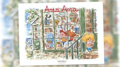 Couverture du livre Ana Ana -  Les Doudous libraires