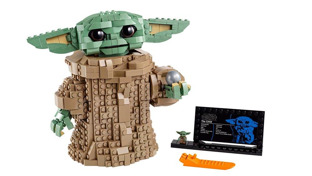Baby Yoda en briques de Lego