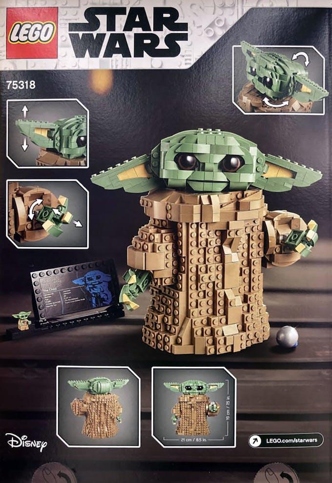 Boîte de Lego Baby Yoda